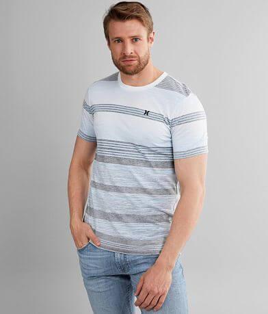 Hurley Splintered Striped T-Shirt