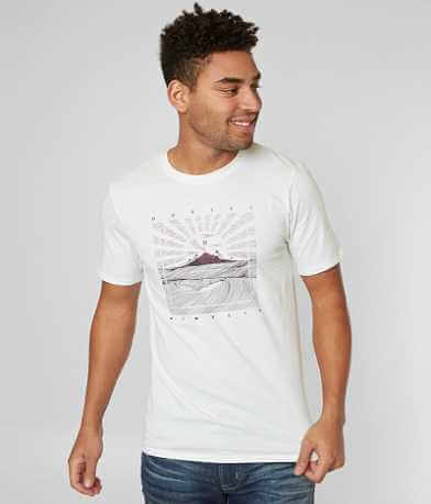 Hurley Waves In T-Shirt