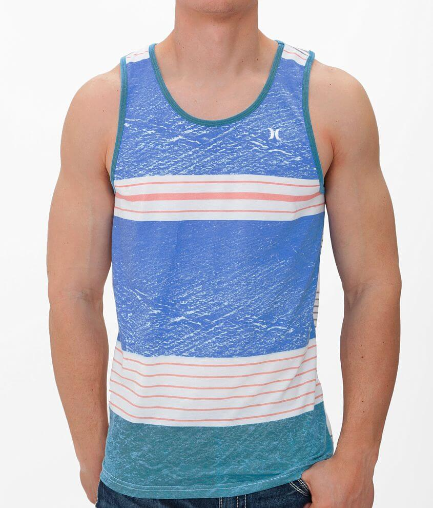 Hurley Against The Grain Tank Top front view