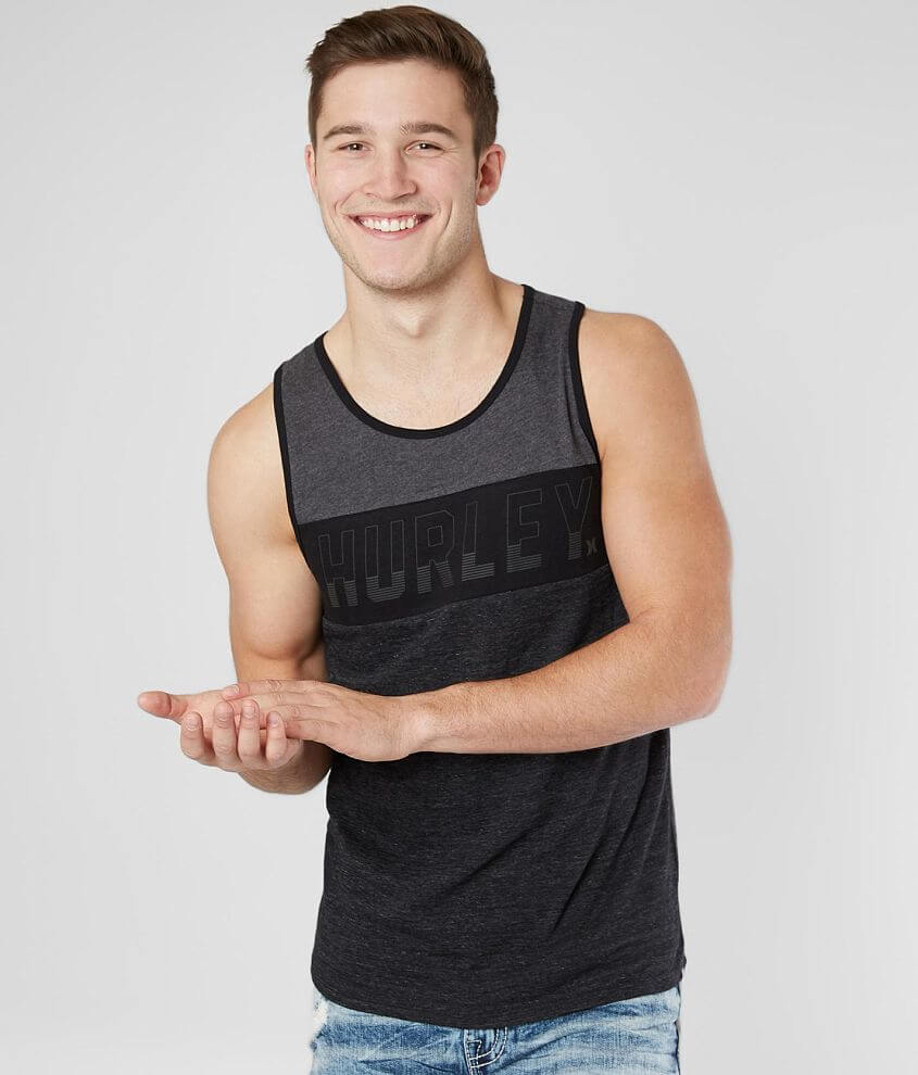 Hurley Charged Up Tank Top front view