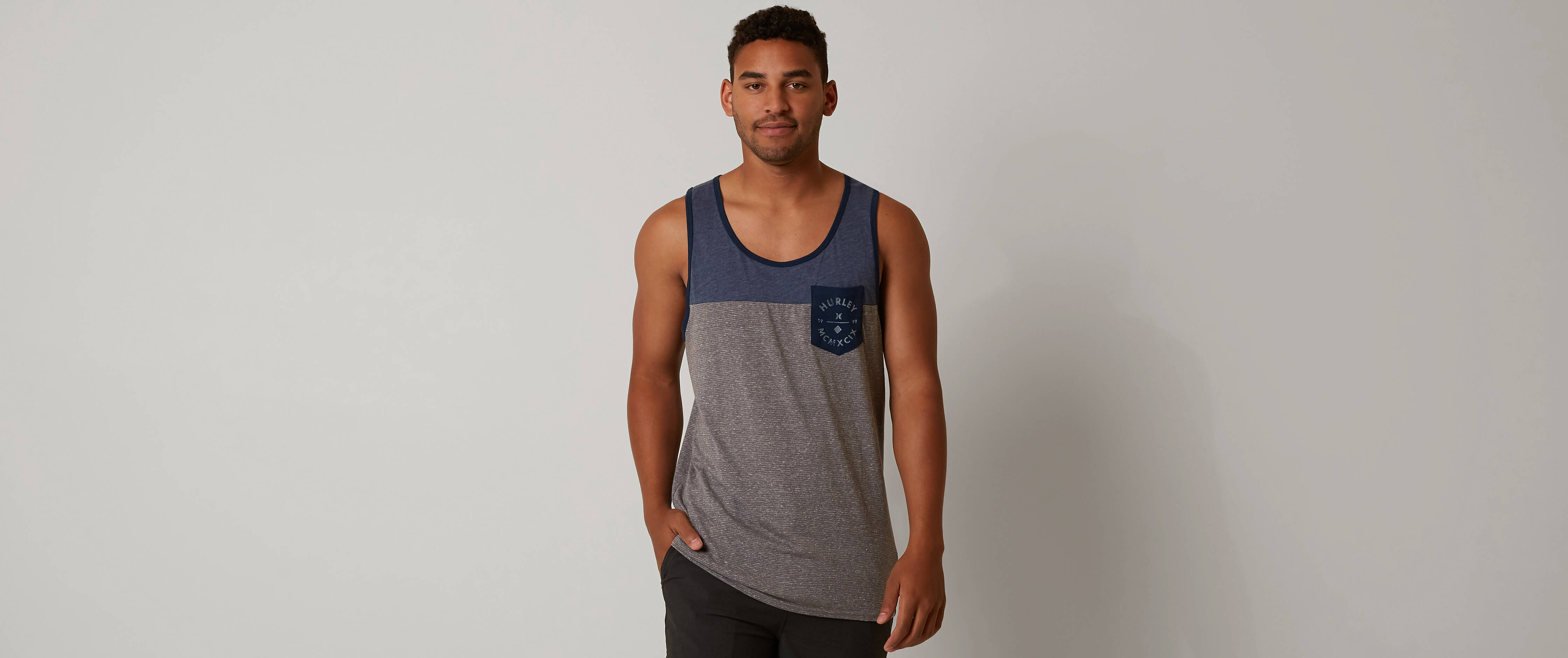 Hurley Grain of Salt Tank Top