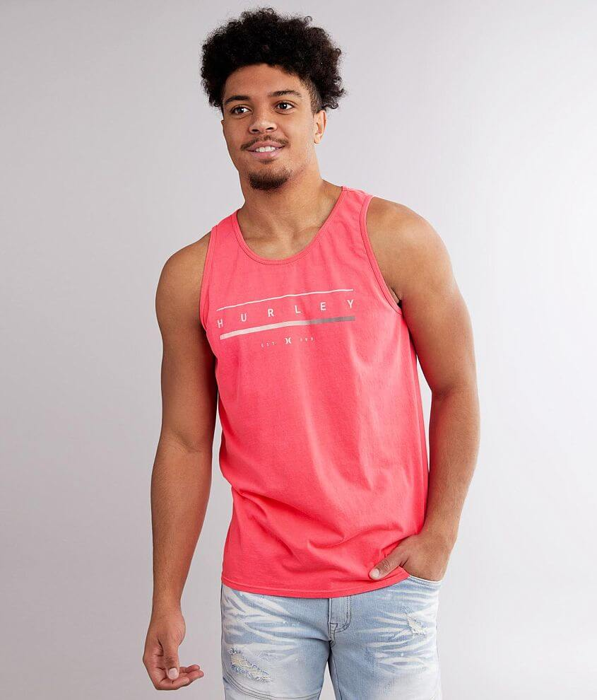 Hurley Status Tank Top front view