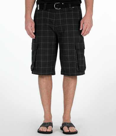 Hurley Vex Plaid Cargo Short