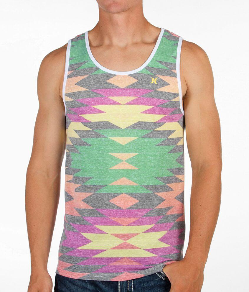 Hurley Southwestern Print Tank Top front view