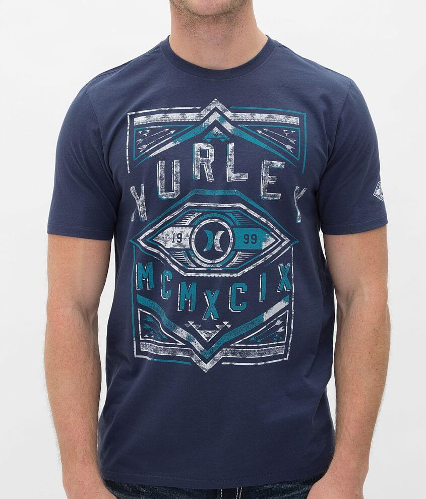 Hurley Slashes T-Shirt front view