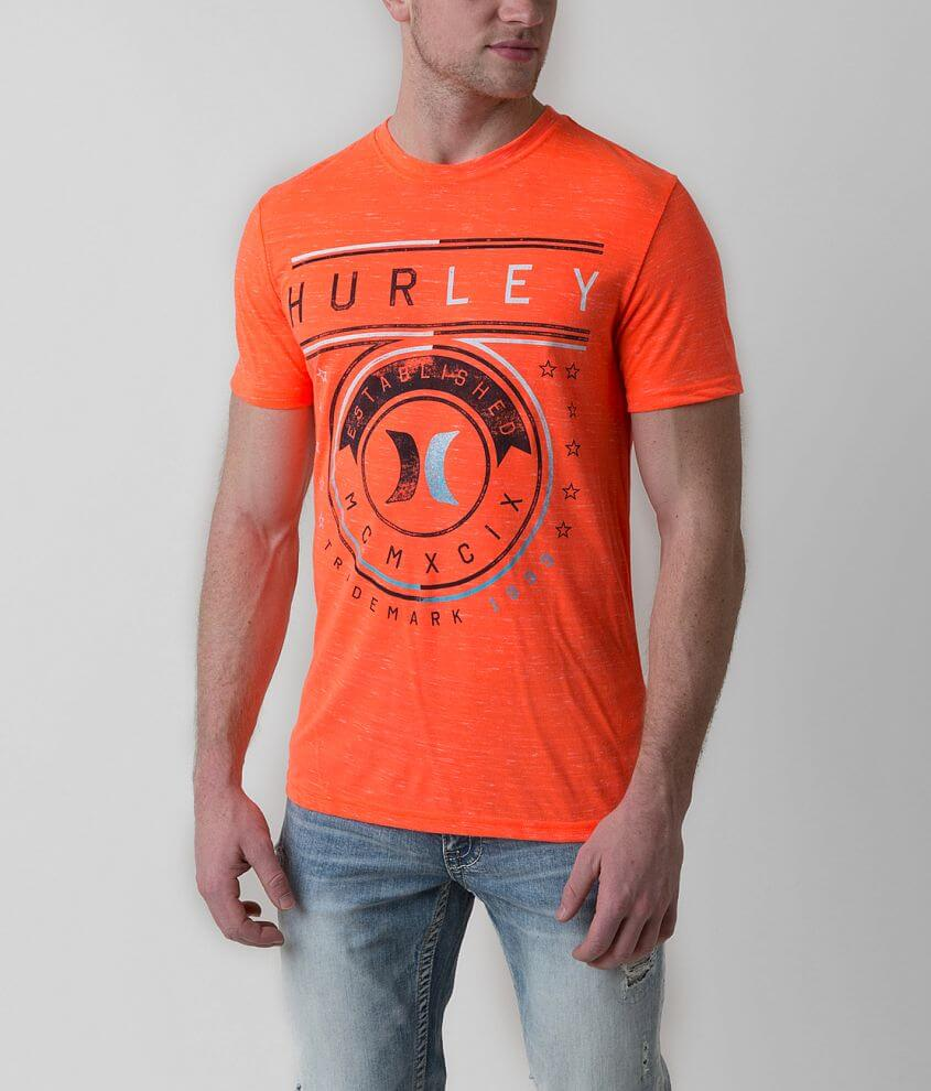 Hurley Vector Lines T-Shirt front view