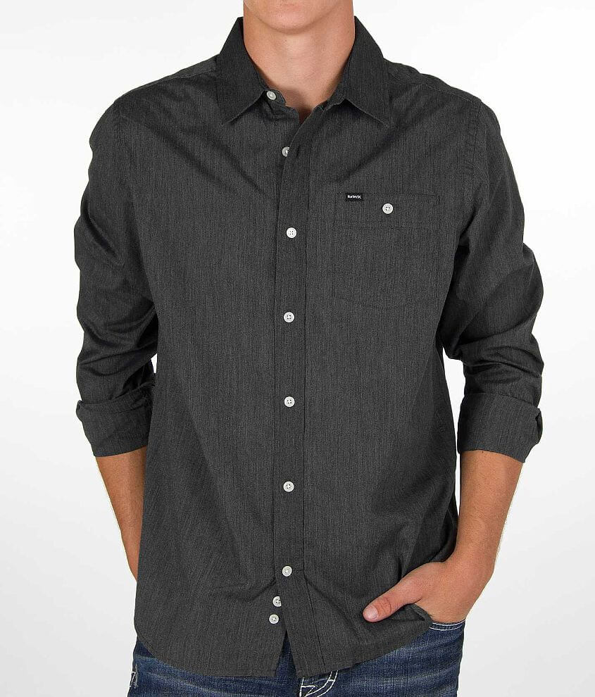 Hurley Rise Solid Shirt front view