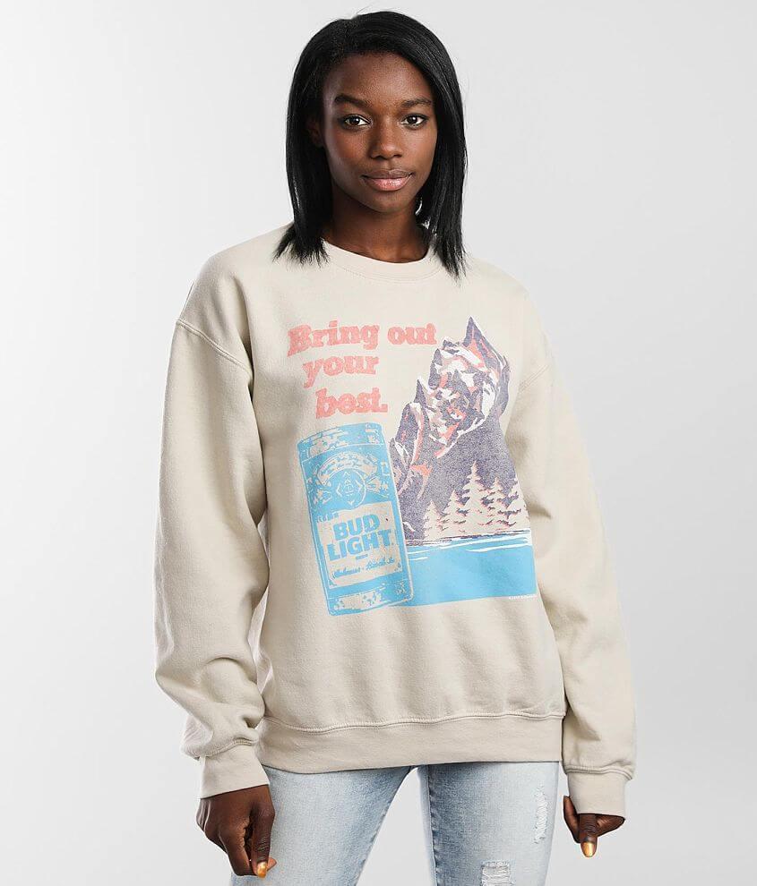 Junkfood Bud Light® Your Best Sweatshirt front view