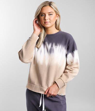 Hurley Double Dip Dye Crew Sweatshirt