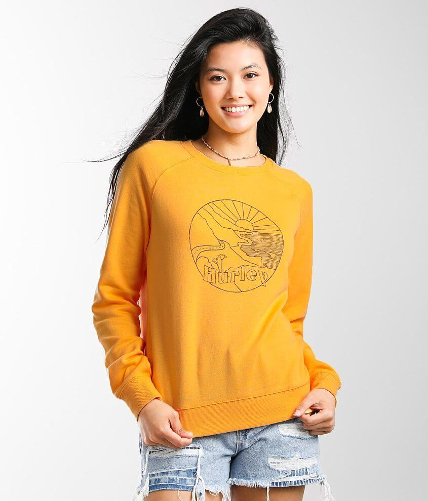 Hurley Surf Coast Burnout Pullover front view