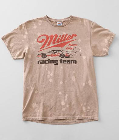 Junkfood Miller High Life Racing Team T-Shirt