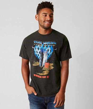 Junk Food The Who American Tour Band T-Shirt