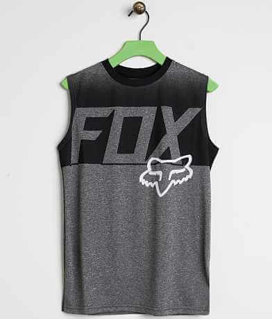 Boys - Fox Alabaster Tank Top