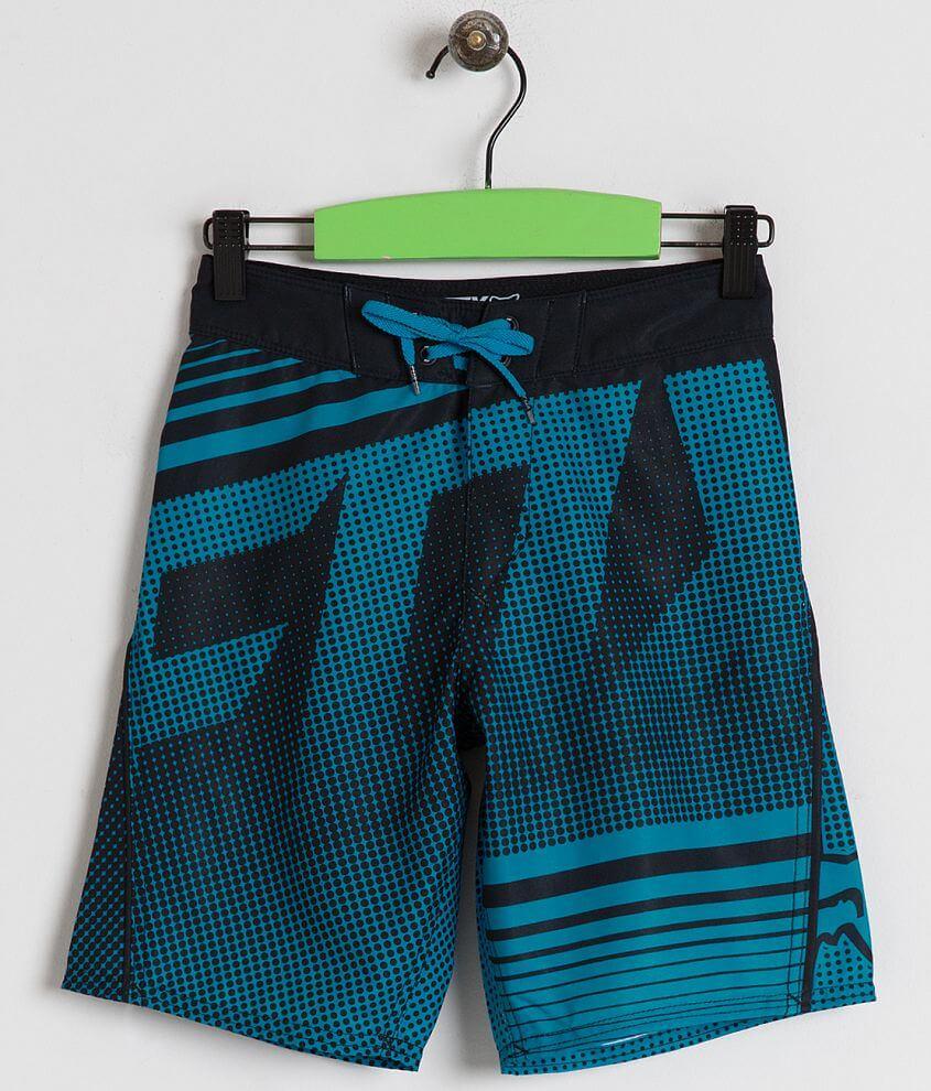 9abd783723 Boys - Fox Static Boardshort - Boy's Boardshorts in Electric Blue ...