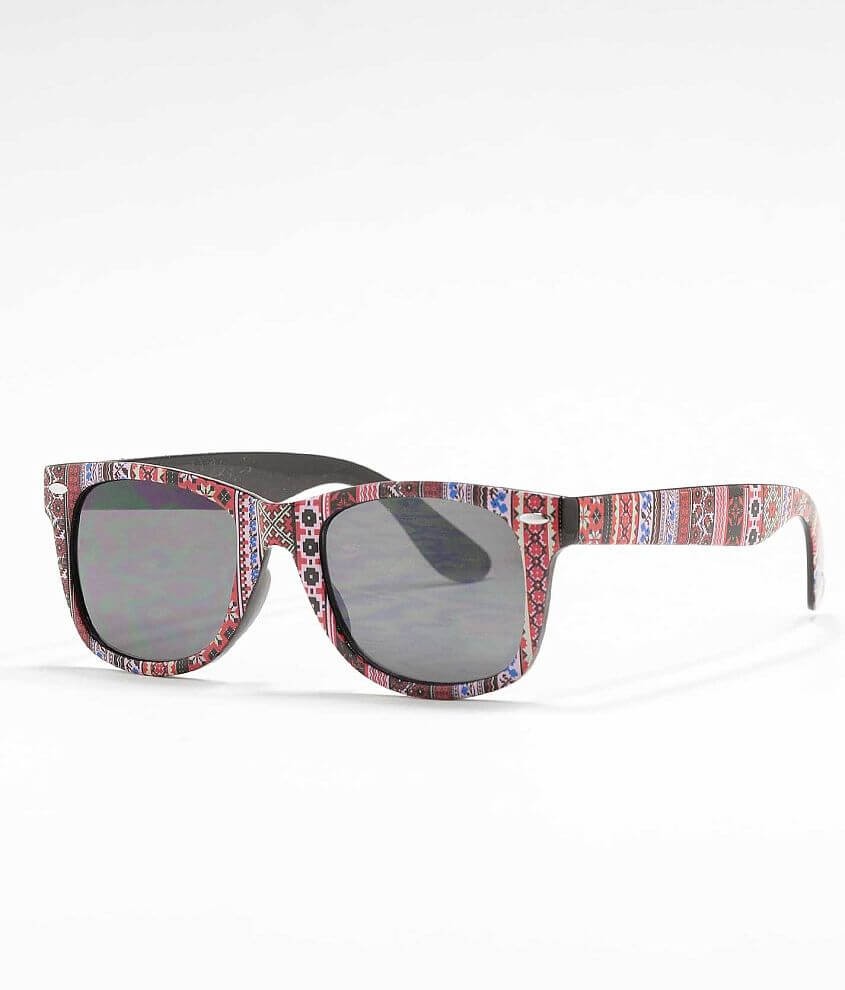 BKE Printed Sunglasses front view