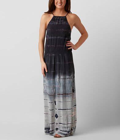 Moon & Sky Tie Dye Maxi Dress