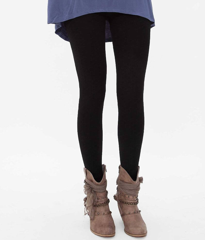 Indero Tonal Patterned Legging front view