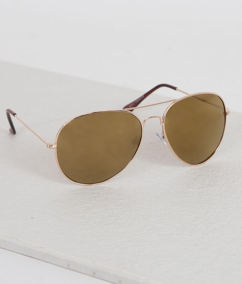 BKE Aviator Sunglasses front view