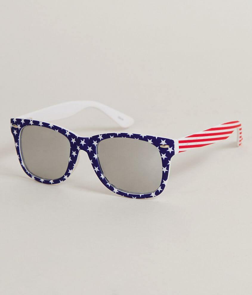 a08322517846 BKE Stars   Stripes Sunglasses - Men s Accessories in Red White Blue ...
