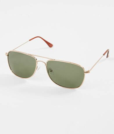 BKE Aviator Polarized Sunglasses