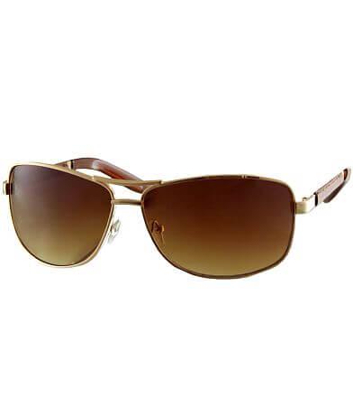 BKE Leather Sunglasses