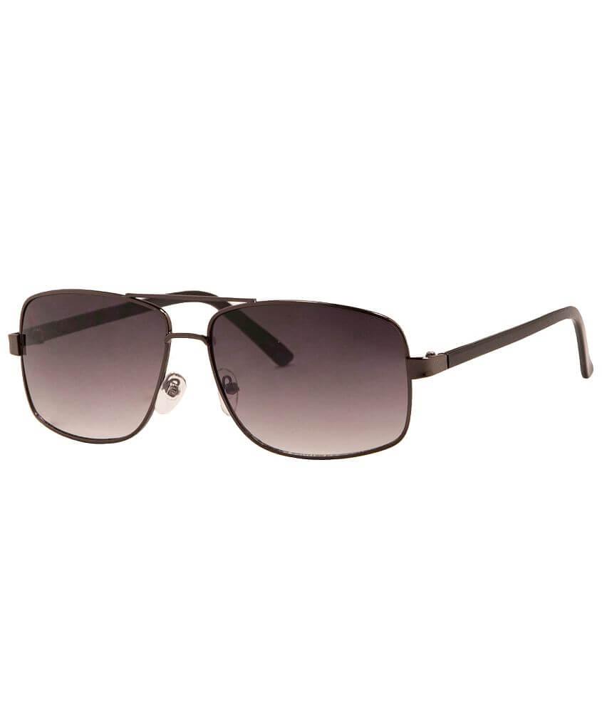 BKE Square Aviator Sunglasses front view