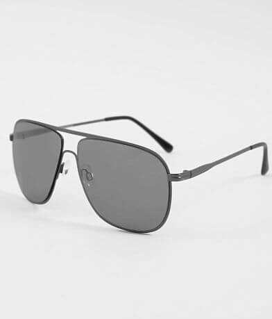 BKE Gunmetal Aviator Sunglasses