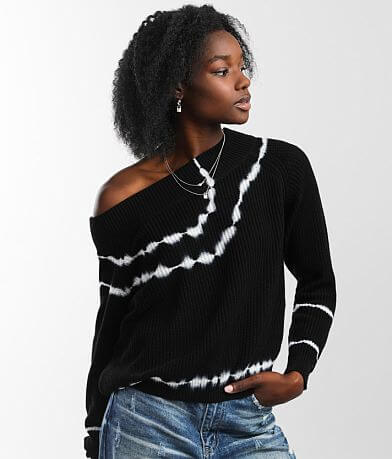 Gilded Intent Tie-Dye Sweater