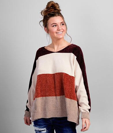 Daytrip Chenille Striped Sweater