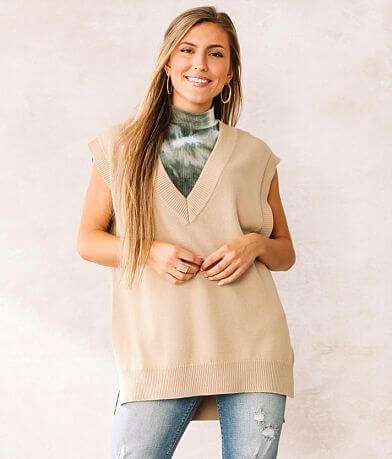 Willow & Root Oversized Sweater Vest