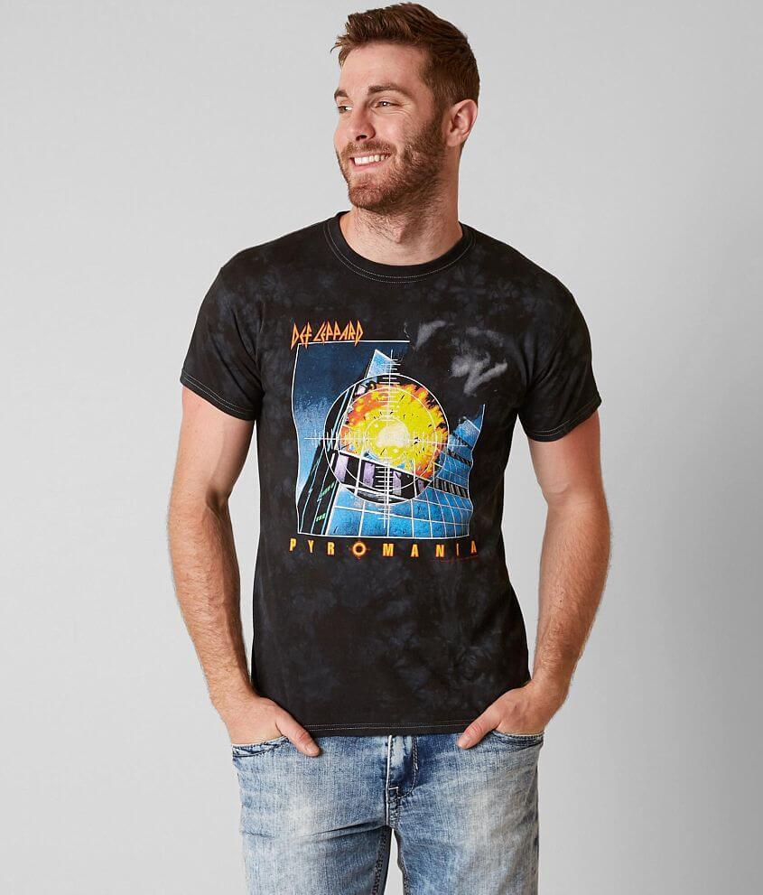 f049938e6d8 Impact Merchandising Def Leppard T-Shirt - Men s T-Shirts in Black ...