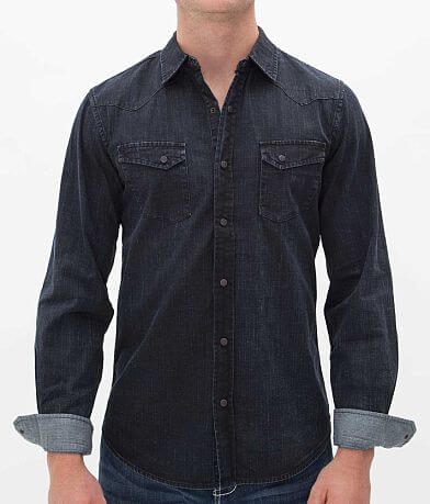 Projek Raw Coated Denim Shirt
