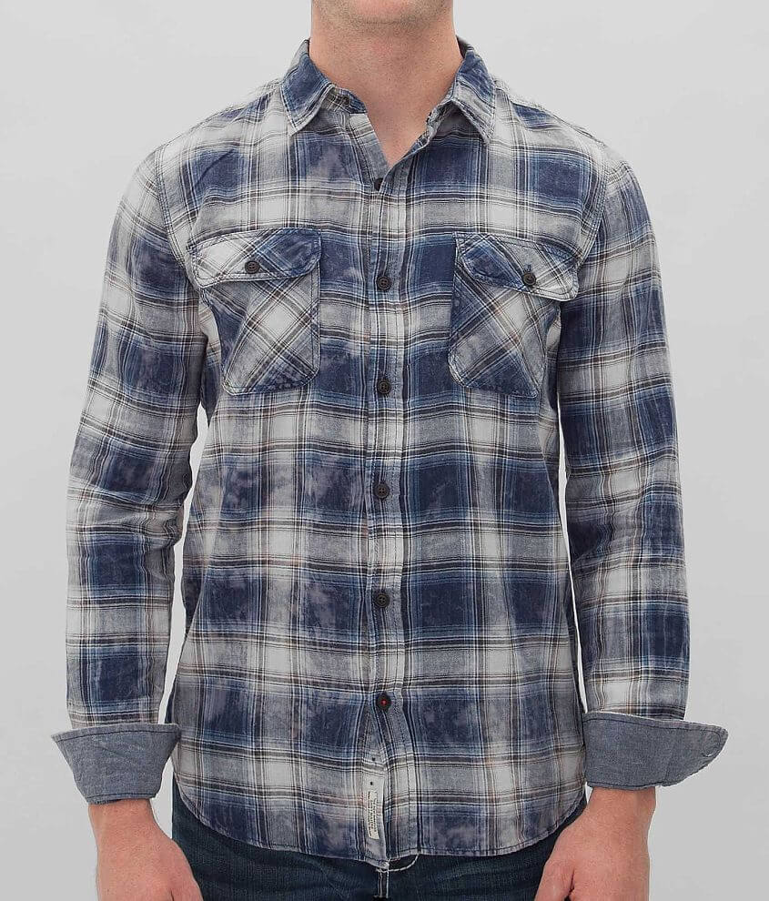 Projek Raw Plaid Shirt front view