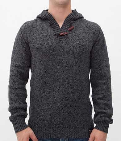 Projek Raw Toggle Henley Sweater