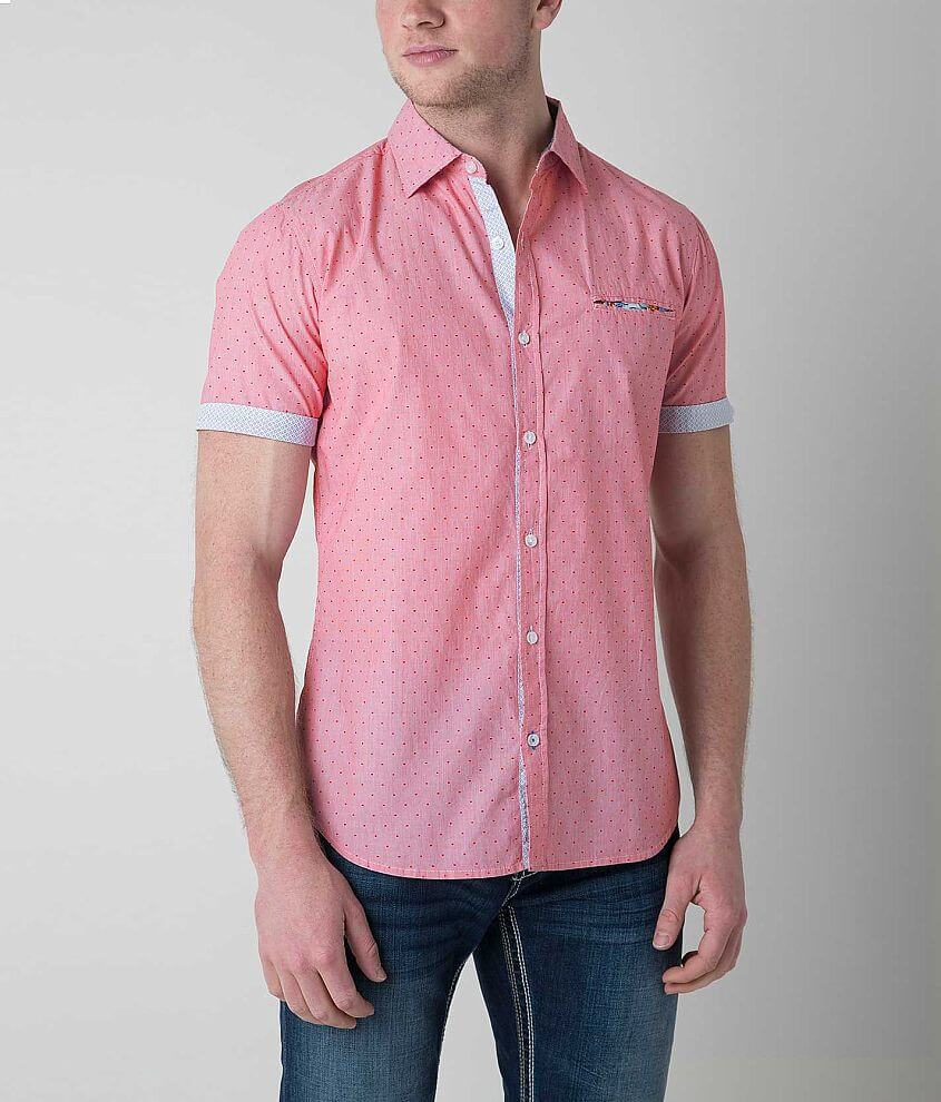 Projek Raw Printed Shirt front view