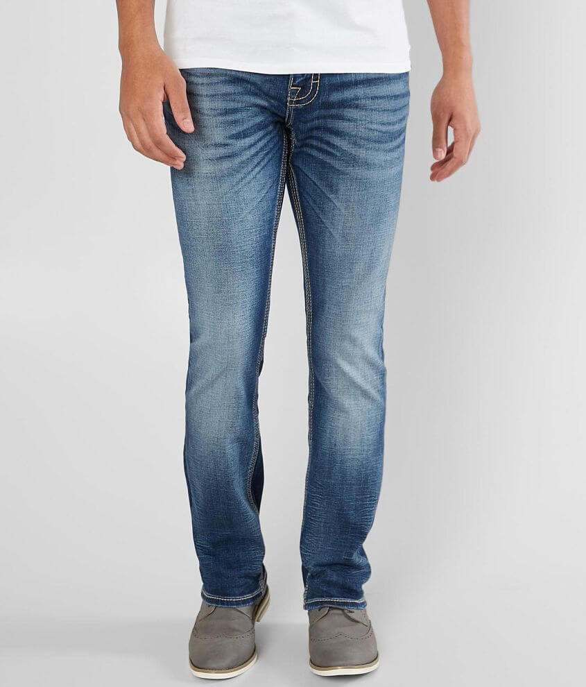 31c04aead8a Buckle Black Three Straight Stretch Jean - Men s Jeans in Marseille ...