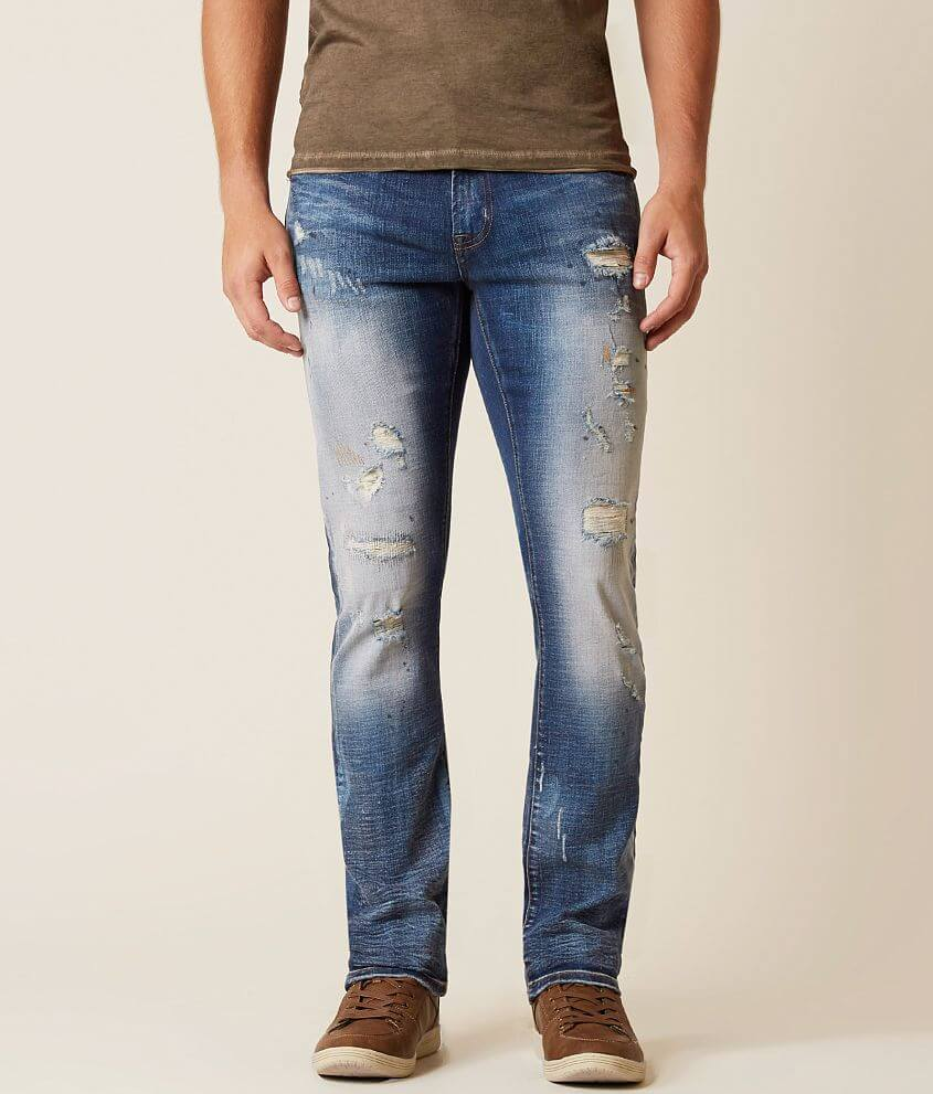 Stone Refinery Clyde Slim Straight Stretch Jean front view