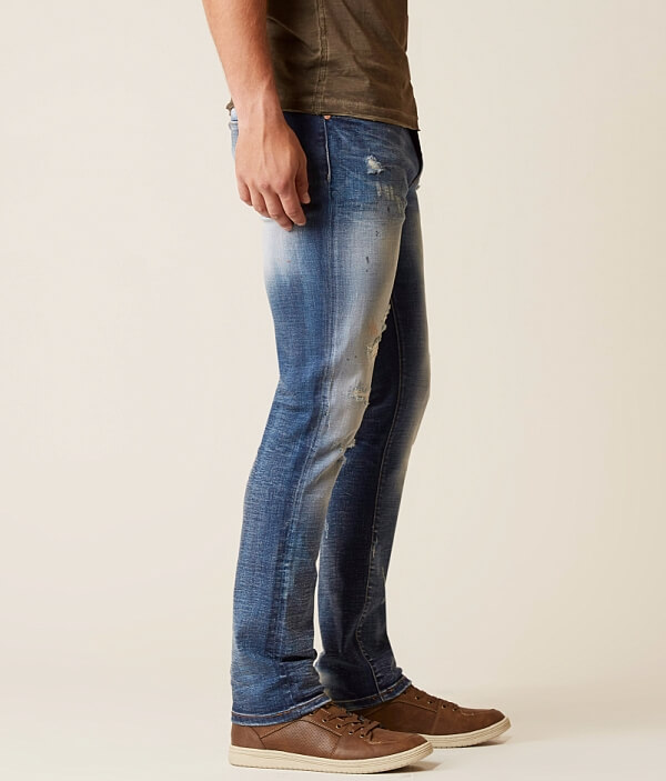 Stretch Jean Clyde Straight Refinery Stone Slim wCUqwIxF