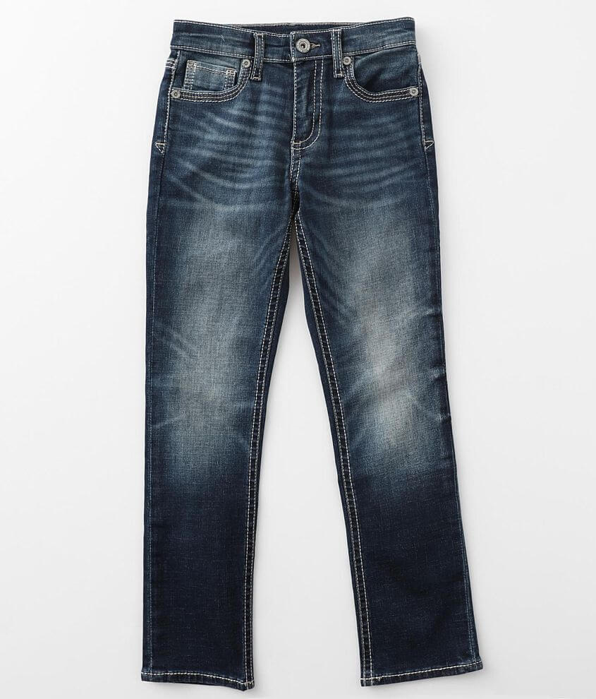 Boys - BKE Conner Taper Stretch Jean front view