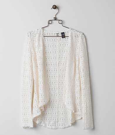 BKE Boutique Lace Blazer