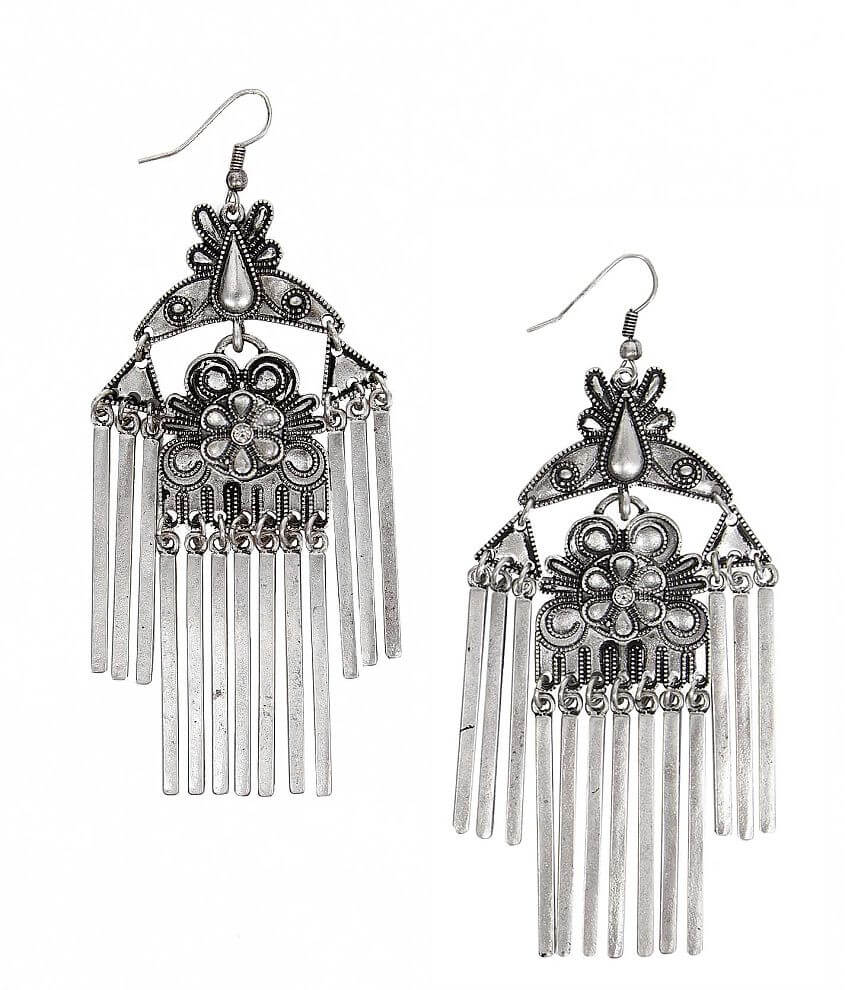 Daytrip Fringe Earring front view