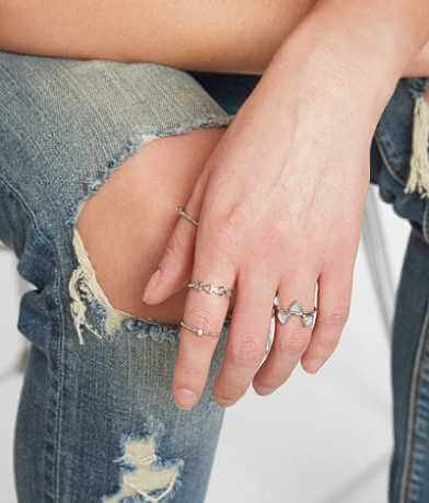 BKE Geometric Ring Set
