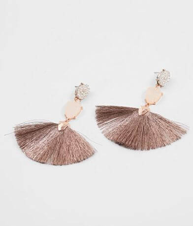 BKE Fringe Statement Earring