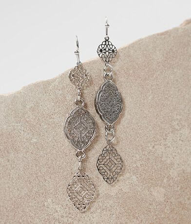 BKE Linear Drop Earring