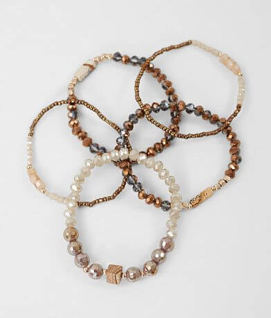 BKE Mixed Bead Bracelet Set