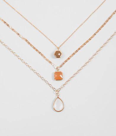 BKE Stone Necklace Set