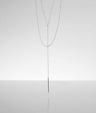 BKE Tiered Y-Necklace