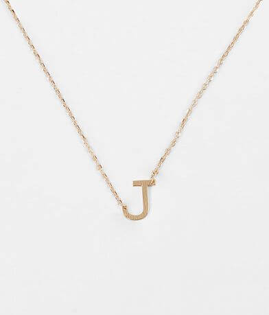 BKE J Necklace