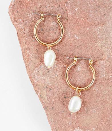 BKE Dainty Faux Pearl Earring