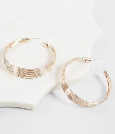 BKE Layered Hoop Earring